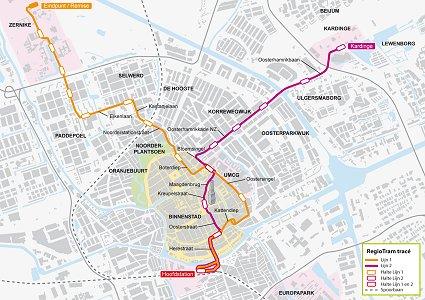 Light Rail Atlas Highlights - Norway map railway